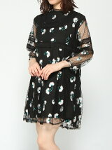 sister jane / Mystique Embroidery Dress ray beams レイビームス