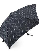 EG65 モノグラムチェック柄軽量折りたたみ傘(雨傘)