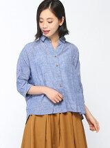 (W)【grn】ドロップショルダー半袖シャツ