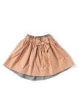 速乾リボンギャザースカート