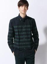 (M)OXFORDガラシャツ