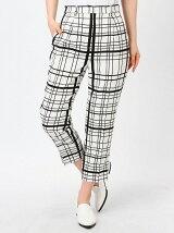 STRIPE&CHECK pants