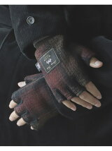 BEAMS / MOON Finger Less Glove