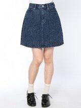 【WEGO】【BROWNY STANDARD】(L)5ポケットAラインスカート【ガールズアワード】