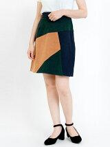 【WEB限定価格】カラーブロックミニスカート