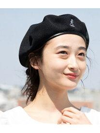 【SALE/40%OFF】ViS 【KANGOL】メッシュベレー帽 ビス 帽子/ヘア小物 ベレー帽 ブラック ベージュ