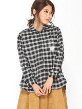 【Rydia】コビニャーチェック2WAYシャツ