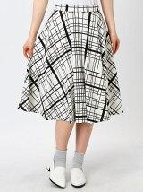 STRIPE&CHECK skirt