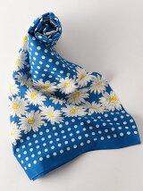 レトロプリントスカーフ