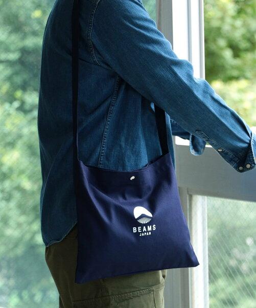 BEAMS JAPAN/ビームス ジャパン オリジナル ロゴ サコッシュ