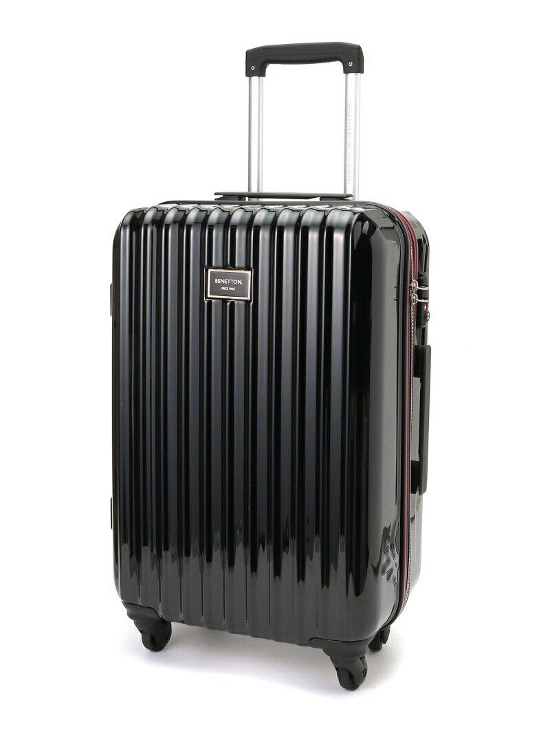 BENETTON 静走ラインキャリーバッグ・スーツケース(M)容量約48L 静音 ベネトン【送料無料】