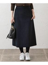Sonny Label 【WEB限定】ビーバーミディスカート サニーレーベル スカート スカートその他 ネイビー ブラック ホワイト グリーン【送料無料】