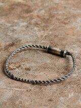 Gild Studs plate cord bracelet