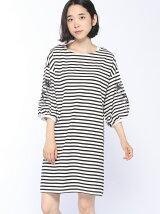 mitis/袖刺繍ワンピース/mitis/AW