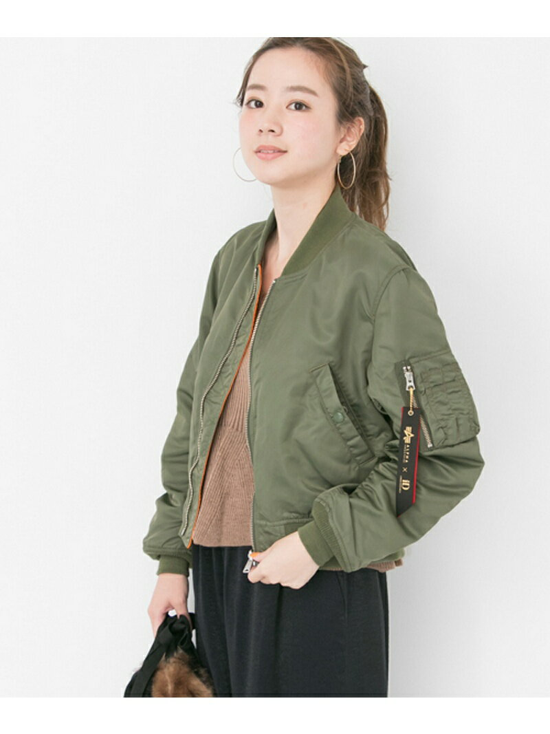 【SALE/40%OFF】URBAN RESEARCH ALPHA INDUSTRIES×URBAN RESEARCHiD 別注LOOSE FIT MA-1 アーバンリサーチ コート/ジャケット【RBA_S】【RBA_E】【送料無料】