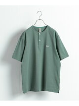 【別注】Scye*URBAN RESEARCH Henley Neck Tシャツ