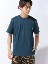 S/S COLLEGE POCKET T-SHIRT