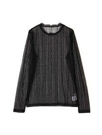【SALE/50%OFF】ROSE BUD レースロングスリーブTシャツ ローズバッド カットソー Tシャツ ブラック ホワイト グリーン