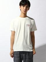 (M)ZIP Select ナノテックCalifFlag刺繍Tシャツ