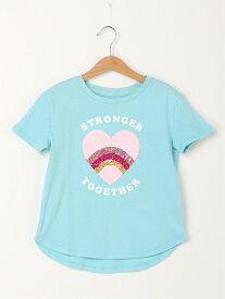 【SALE/24%OFF】GAP (K)Kids Flippy Sequin Graphic T-Shirt ギャップ カットソー キッズカットソー ブルー パープル