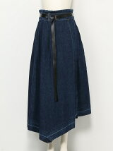 DENIM 2way SKIRT