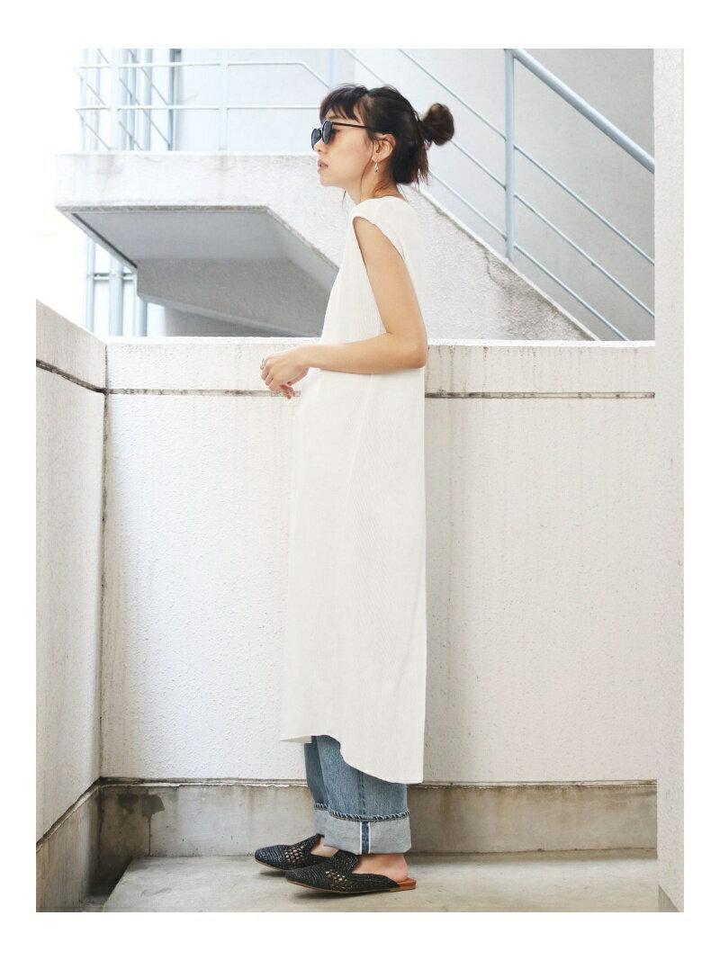 Ungrid バックスリットワッフルワンピース アングリッド ワンピース【送料無料】