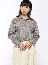 【WHO S WHO gallery】チェックシャツショート