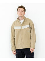 FRONT ZIP SWITCHING JACKET