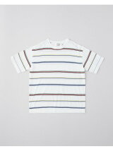 COTTON BOARDER KNIT TEE SHIRT