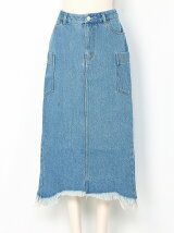 DENIM TIGHTSKIRT