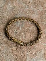 Braded mesh chein bracelet
