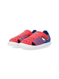 adidas Sports Performance ウォーターサンダル [Water Sandals] アディダス (キッズ/子供用) アディダス シューズ キッズシューズ レッド ピンク