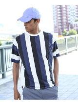 マルチストライプTシャツ