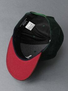FAKESUED 切替刺繍CAP