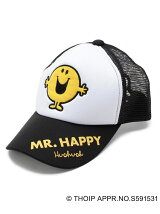 Mr. Men Little Miss×HusHusH キャップ