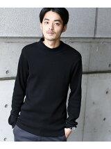 【WEB限定】 モックネックサーマル ロングスリーブTシャツ