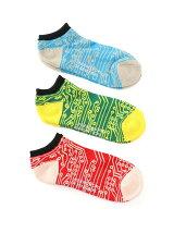 メンズ電子回路柄Sソックス・靴下(日本限定)