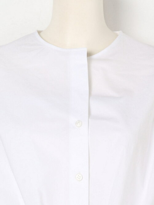 TYPEWRITER STRETCH Ribbon Blouse