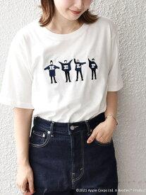 SHIPS SC:THEBEATLESTシャツ シップス シャツ/ブラウス ワイシャツ ホワイト グレー ベージュ ブラウン ネイビー ブルー【送料無料】