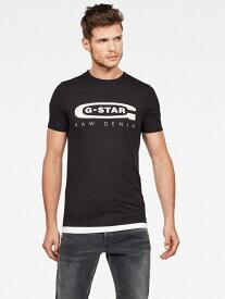 G-Star RAW (M)Graphic 4 Slim T-Shirt ジースターロゥ カットソー Tシャツ ブラック【送料無料】