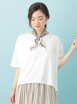 rivet&surge R&S スカーフ付ワイドTシャツ