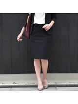 Carremanモクロディーベーシックタイトスカート