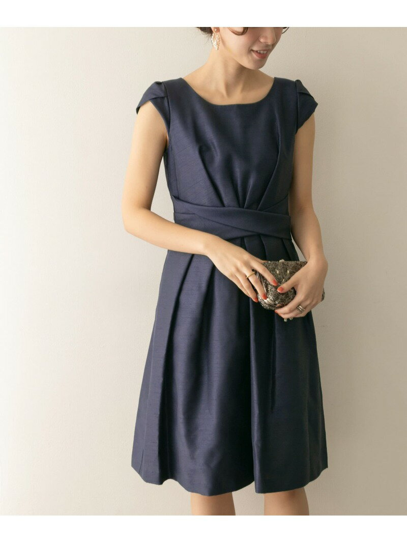 URBAN RESEARCH COUTURE MAISON ウエストクロスワンピース アーバンリサーチ ワンピース【送料無料】