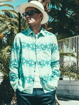 VINTAGE GRADATION LONG SLEEVE SHIRT