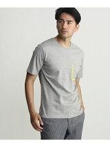 バックプリントポケットTシャツ