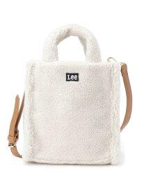 SHOO・LA・RUE 【Lee】ボアトートバッグ シューラルー バッグ トートバッグ ホワイト ブラウン ベージュ ピンク【送料無料】