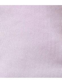 バックレースアップテレコ半袖Tシャツ