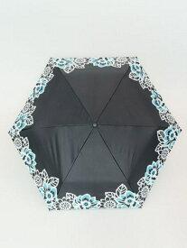 チャイハネ フラワ-日傘晴雨兼用遮光折りたたみ傘 チャイハネ ファッショングッズ 日傘/折りたたみ傘 ブラック ホワイト ネイビー