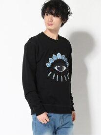 【SALE/30%OFF】KENZO (M)SS20 Classic Eye Sweatshirt M ケンゾー カットソー スウェット ブラック【送料無料】