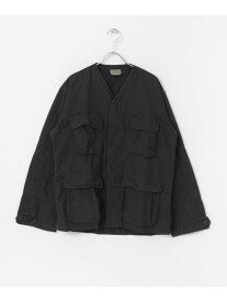 Sonny Label ROTHCO BDU SHIRTS V-NECK サニーレーベル コート/ジャケット ノーカラージャケット ブラック カーキ【送料無料】